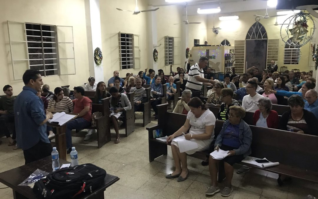 Training Christians in Cuba: December 2019